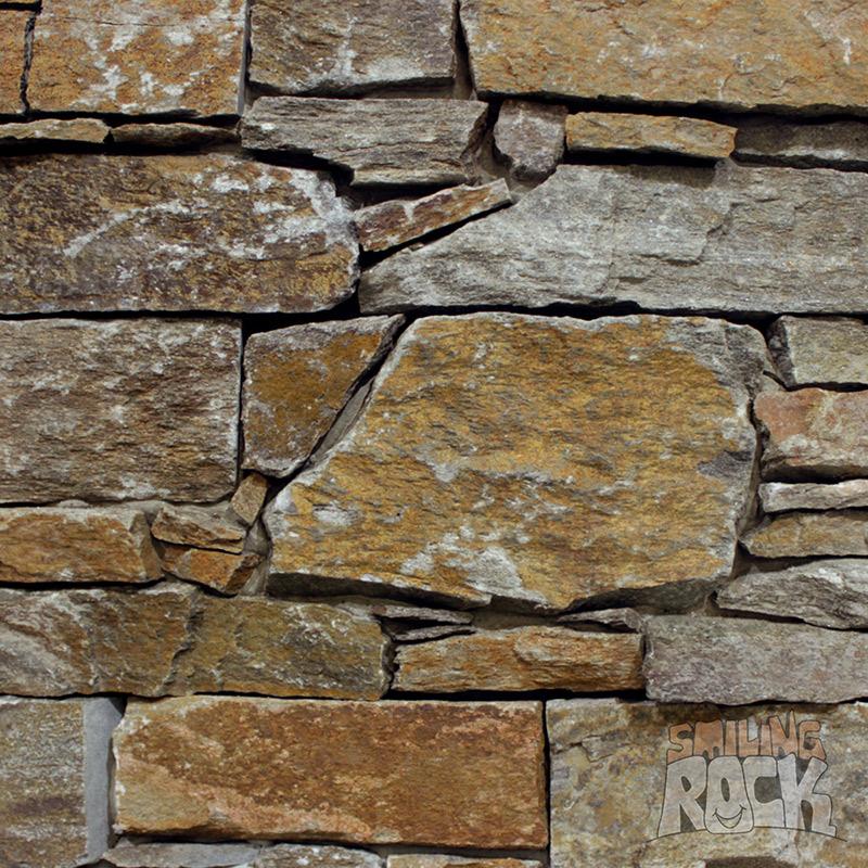 Flintstone ledgestone wall cladding