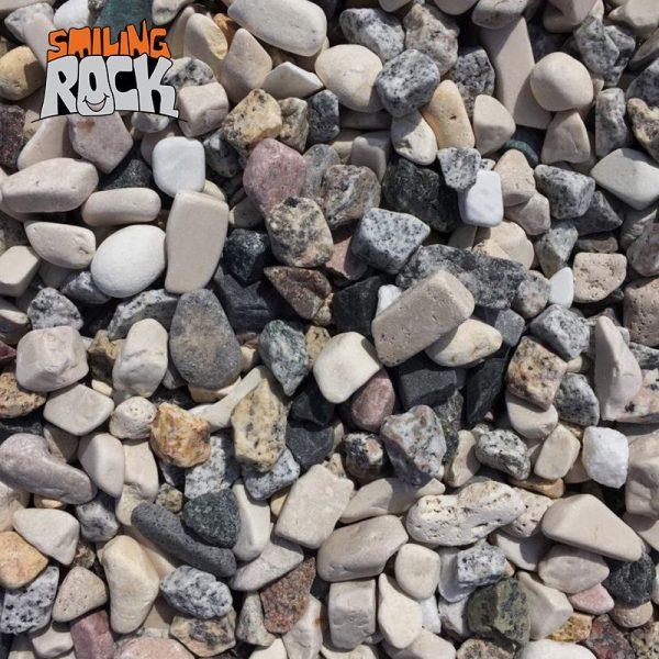 Granite marble mixed pebbles