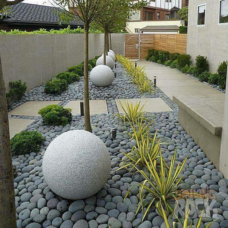 Quail Egg Rocks Landscape