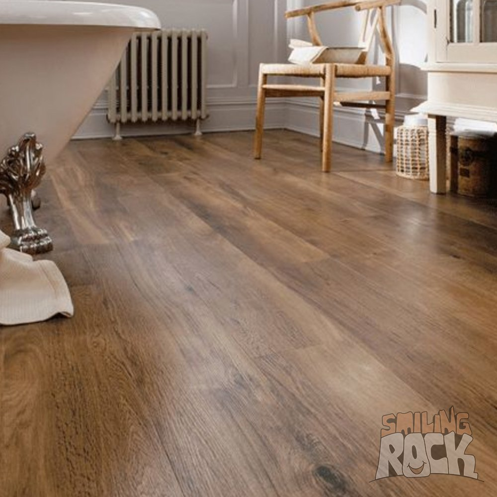 Vinyl Plank Floor Walnut Oak