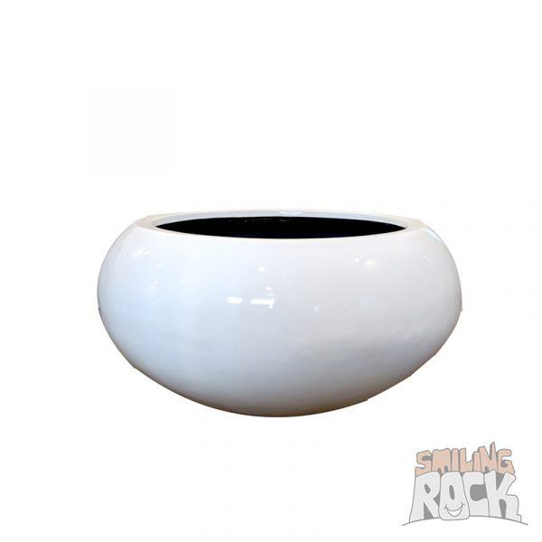 Glossy white bowl