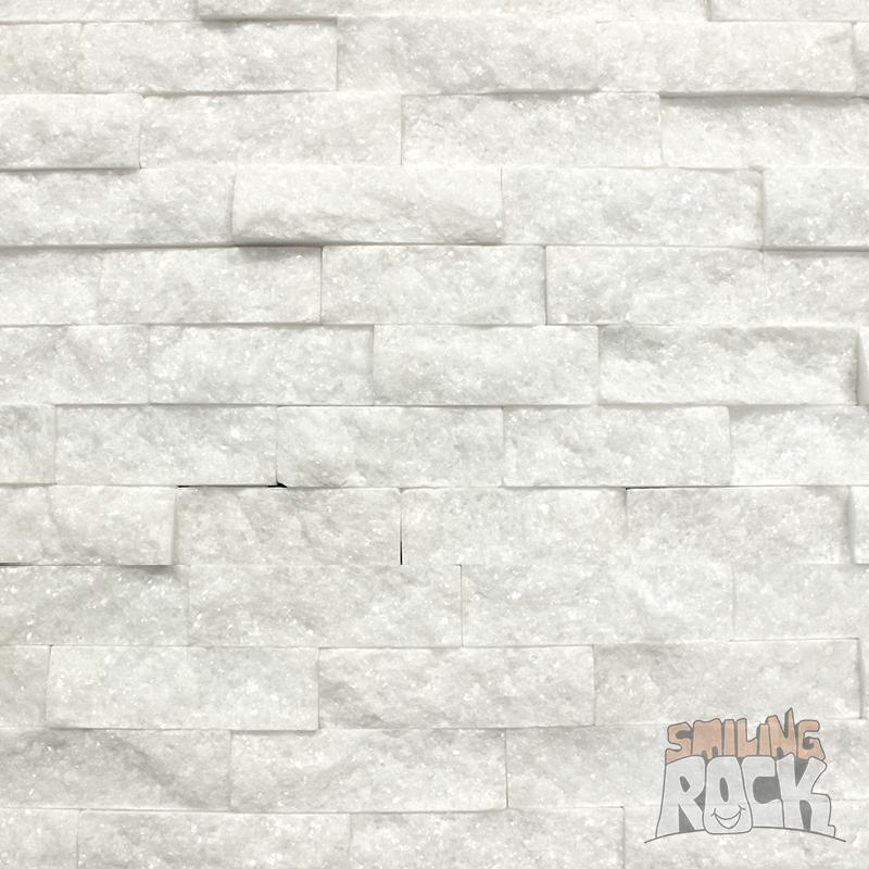 White Quartz Stack Stone