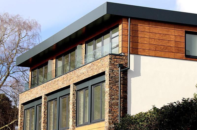 Stack Stone Home Design