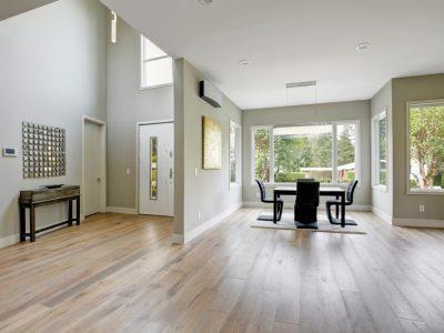 Light on flooring entryway